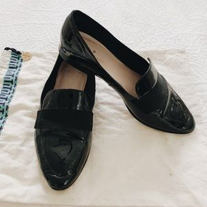 Kate Spade Black Patent Leather shoes